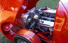 Customized Car And Engine