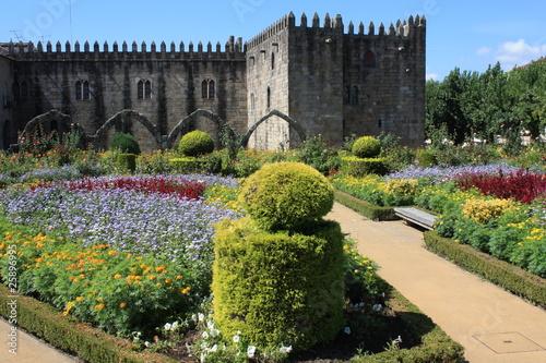 Fotografie, Obraz  Romantic gardens in Braga - Northern Portugal