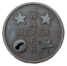 Iron Cover For Public Water Me...