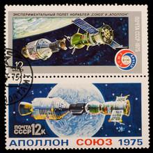 Experimental Flight Of Soyuz And Apollo