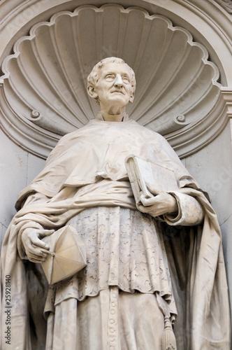 Cardinal John Henry Newman statue Canvas Print