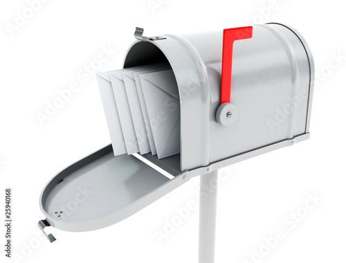 Cuadros en Lienzo white mailbox