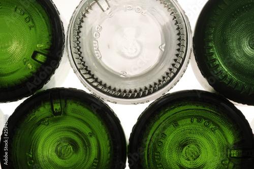 Bottiglie di vetro Canvas-taulu