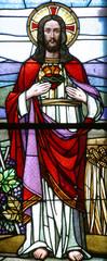 Naklejka Sacred Heart of Jesus