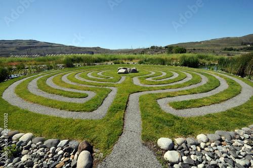 Photo Washington outdoor Labyrinth
