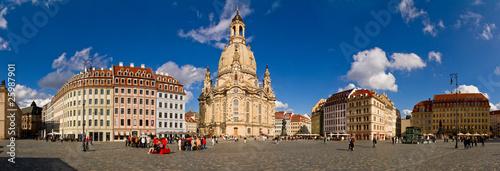 Neumarkt Dresden Fototapet