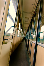 Interior Of A Train