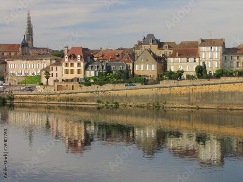 Photo Bergerac ; Périgord Pourpre ;Vallée de la Dordogne, Aquitaine