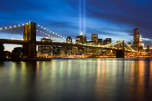 911 Light Memorial In New York...