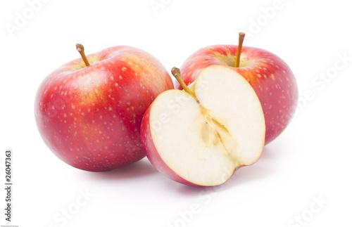 Fototapeta Dwa i pół jabłka obraz