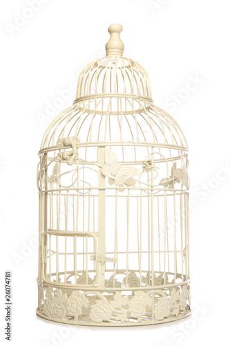 Fotografia  Vintage looking bird cage