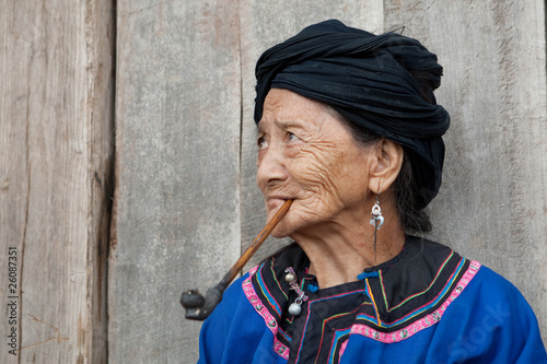 Photo Ethnic group Lo Lo Pho in Laos