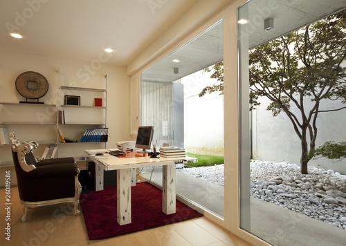 Fotografie, Obraz  interno di ufficio casalingo