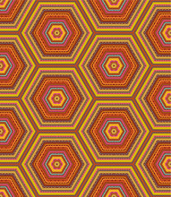 Seamless Kashmir, Paisley Or Country Pattern (background)