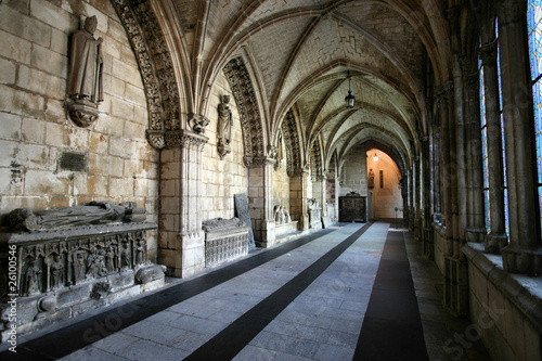 Old cathedral in Burgos, Spain