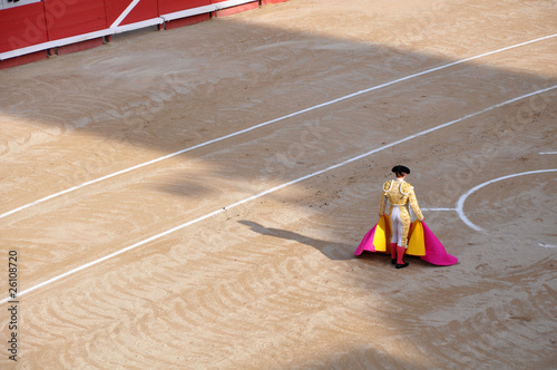 Photo Stands Bullfighting Corrida - Arènes - Matador - Toréador - Espagne