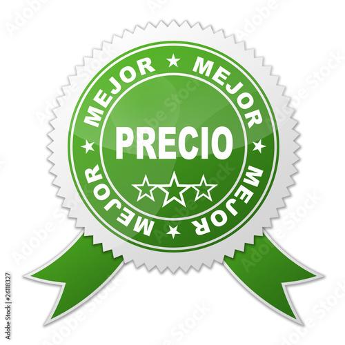 Fotografía  Sello MEJOR PRECIO