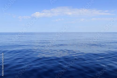 Poster Mer / Ocean blue sea horizon ocean perfect in calm