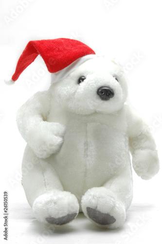 Oso De Peluche Vestido De Santa Claus Buy This Stock Photo