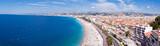 Fototapeta See - Panorama Côte d'Azur - Nice et sa plage