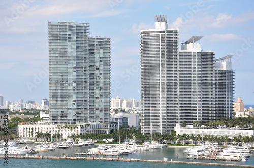 Foto op Plexiglas Panoramafoto s Miami in Florida