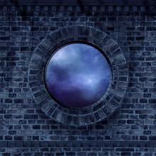 Dark Castle Window
