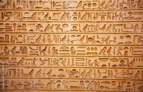 Foto op Canvas Egypte old egypt hieroglyphs