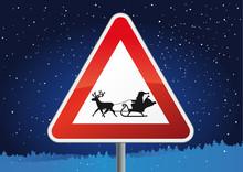 Santa Claus Crossing
