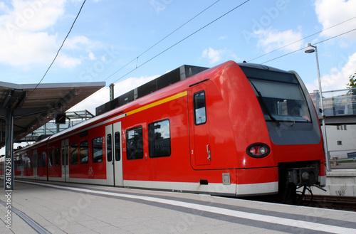 Fotografie, Obraz  S-Bahn Zug