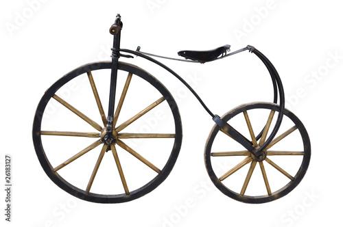 Old Bicycle © Andrzej Tokarski