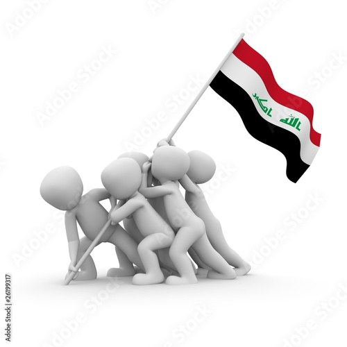 iraq memorial Fototapet
