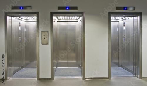 Fotografie, Obraz  ascensore