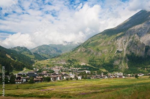 La Thuile, Aosta valley Canvas Print