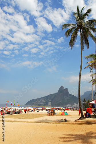 In de dag Rio de Janeiro rio