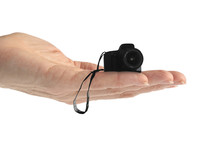 Hand Tiny Camera (isolated On ...
