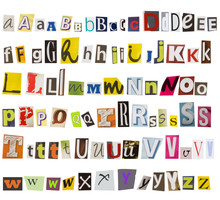 Alphabet Made Of Letters From ...