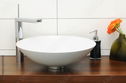 Fotografía  waschbecken gästebad