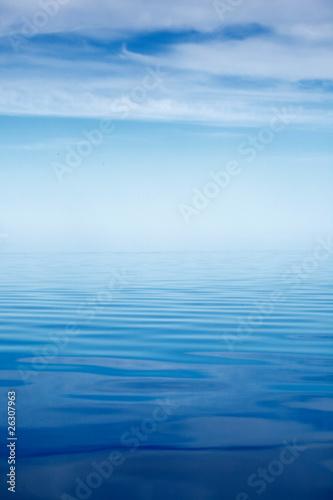 Staande foto Zee / Oceaan Calm sea
