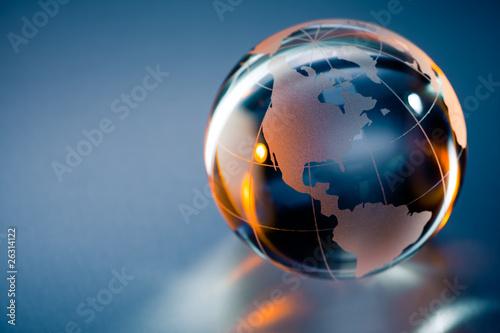 Fotografie, Obraz  planète terre globe