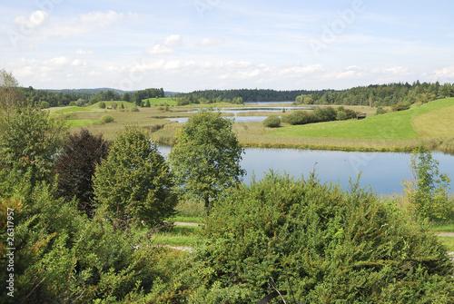 Fototapeta Lake Ostersee obraz na płótnie