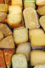 Selection Of Dutch Cheeses, Amsterdam