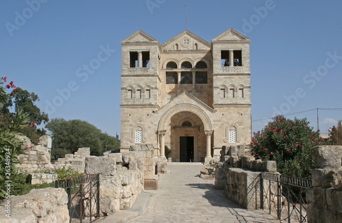 Basilica of the Transfiguration, Mount Tabor, Galilee, Israel Tapéta, Fotótapéta