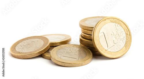 Fotografía euro coin