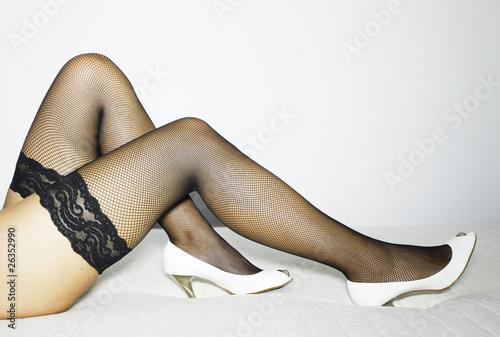 sexy legs Canvas Print
