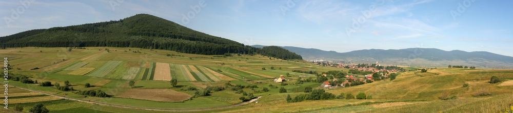 Fototapeta Counrtyside panorama - obraz na płótnie