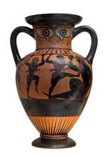 Ancient Greek Vase Depicting U...