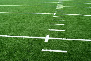 Astro turf football field