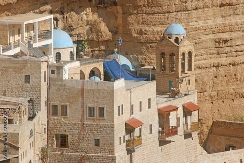 Fotomural Saint George monastery in Judea desert