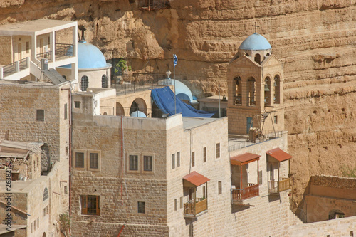 Cuadros en Lienzo Saint George monastery in Judea desert