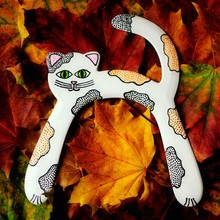 Cat Shaped Boomerang